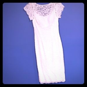Davids bridal studio size 4 white dress